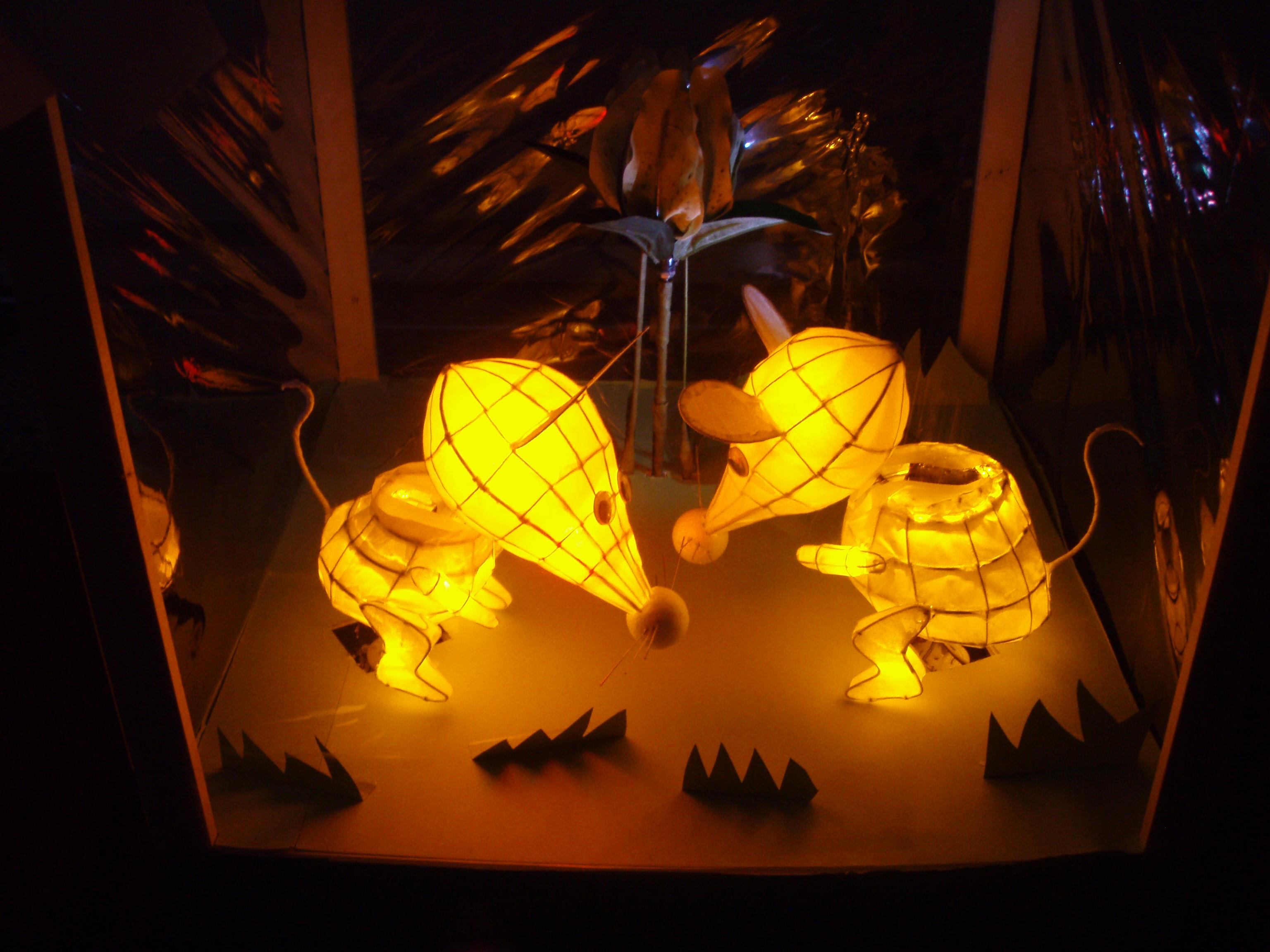 2007全国led创意花灯设计竞赛 得奖作品